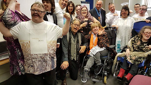 Back 2 Front Films: A unique, inclusive film production company and talent agency ran by and for people with and without learning and physical disabilities